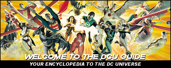 The Unofficial Guide to the DC Universe - JLA art by Alex Ross